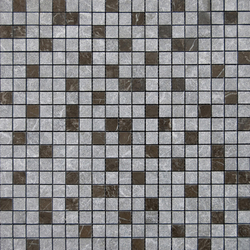 MIx Habana Brown Texture Pulido 1-5x1-5 | Mosaïques en pierre naturelle | Porcelanosa
