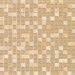 Noohn Stone Glass Mosaics Mix Onix Glacier Honey | Mosaïques verre | Porcelanosa