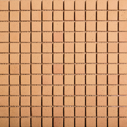 Noohn Terracotta Mosaics Manual-Miel 2-3x2-3 | Facade cladding | Porcelanosa