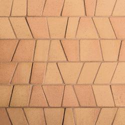 Noohn Terracotta Mosaics Puzzle Manual Miel | Revêtements de façade | Porcelanosa