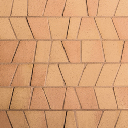 Noohn Terracotta Mosaics Puzzle Manual Miel | Facade cladding | Porcelanosa