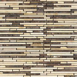 Pulidos Aichi Brik Browns | Natural stone mosaics | Porcelanosa