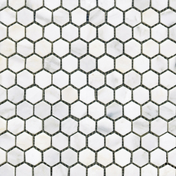 Pulidos Hexagono Marmara | Naturstein-Mosaike | Porcelanosa