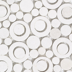 Pulidos Moon Saturn Blanco | Natural stone mosaics | Porcelanosa