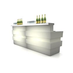 Tetris Luce | Bar counters | PEDRALI