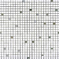Victorian Blanco Thassos Mirror | Natural stone mosaics | Porcelanosa