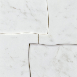 Victorian Coliseum Blanco | Natural stone mosaics | Porcelanosa