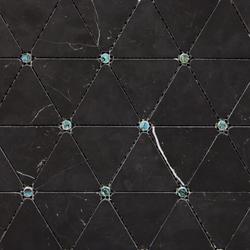 Victorian Diamond Negro Marquina Pearl | Mosaïques | Porcelanosa
