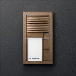 siedle vario audio intercom unit intercoms exterior. Black Bedroom Furniture Sets. Home Design Ideas