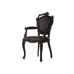smoke Dining armchair | Restaurant chairs | moooi
