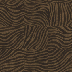 Mémoires | Zebra VP 655 04 | Colour brown | Elitis