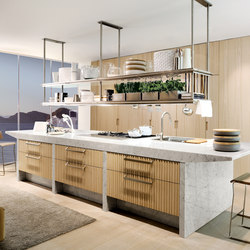 Lignum et Lapis ambiente 1 | Fitted kitchens | Arclinea