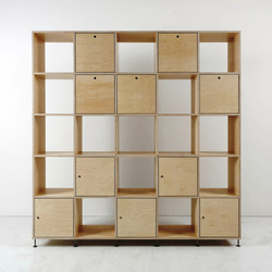 Tius 05 natura flaps/doors | Office shelving systems | Plan W