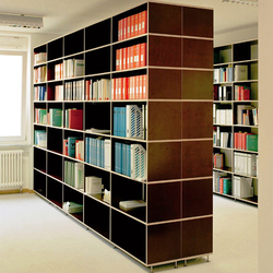 Tius 06 oscura library | Library shelving systems | Plan W