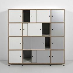 Tius 07 bucaneve doors | Cabinets | Plan W