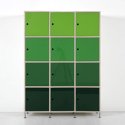 Tius 10 bucaneve glass doors | Office shelving systems | Plan W