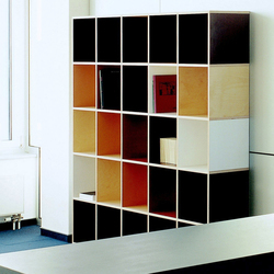 Tius 11 colourful | Office shelving systems | Plan W