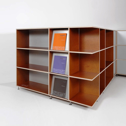 Tius 18 corner capriolo | Office shelving systems | Plan W