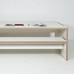 Basso | Upholstered benches | Plan W