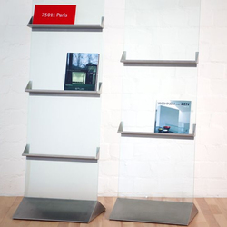 Monte | Brochure / Magazine display stands | Plan W