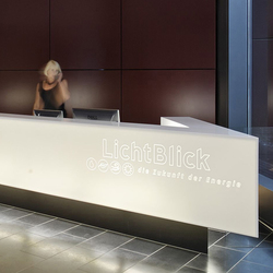 Reception desk | Comptoirs | Plan W
