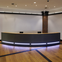 Reception desk | Mostradores de recepción | Plan W