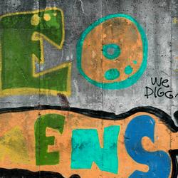 Concrete wall colours 14 C | Wandbilder / Kunst | CONCRETE WALL
