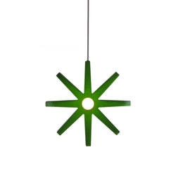 Fling 33 pendant small green | General lighting | Bsweden