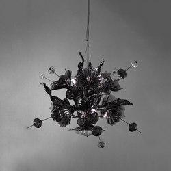 Kumulus 95 Chandelier black | Suspended lights | Bsweden