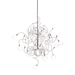 Bubbles Double pendant light 24 | Iluminación general | HARCO LOOR