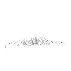 Bubbles oval pendant light 12 | Suspended lights | HARCO LOOR