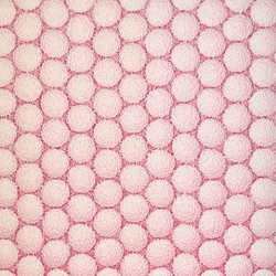 Color pink AIR-board® UV PC clear grain 35 | Slabs | Design Composite