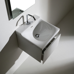 Buddy Washbasin 40 + wall-mounted cabinet 40 | Vanity units | Kerasan