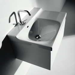 Buddy Washbasin 60 + wall-mounted cabinet 60 | Vanity units | Kerasan