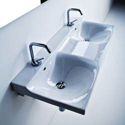 Buddy Washbasin 100 double sink | Wash basins | Kerasan