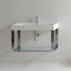 Cento Washbasin + wall hung unit | Vanity units | Kerasan