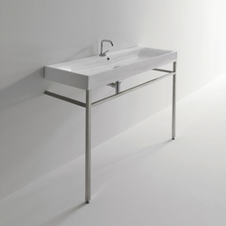Cento Washbasin + free standing unit | Vanity units | Kerasan