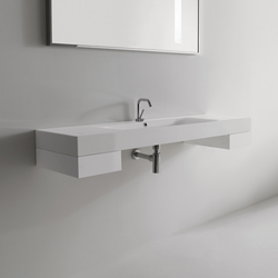 Cento Washbasin + removable drawer | Meubles lavabos | Kerasan