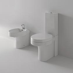 Cento Wc pan + bidet | Toilets | Kerasan