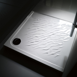 "DUNE ""Sand"" shower base 90x90 square 