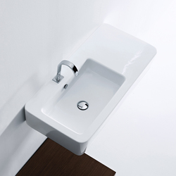 Ego Washbasin 90 asymmetric sink | Wash basins | Kerasan