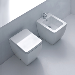 Ego Btw wc pan + bidet 46 | Toilets | Kerasan