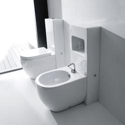 Flo Btw wc pan + bidet 52 | Toilets | Kerasan