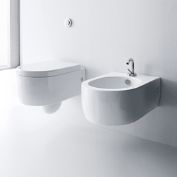 Flo Wc + bidet | Toilets | Kerasan