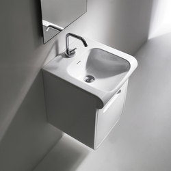 Inka Washbasin 40 + wall-mounted cabinet 40 | Vanity units | Kerasan