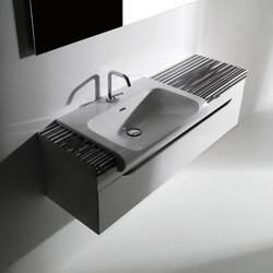 Inka Lavabo 60 e Mobile 120 Piani Ceramica Arte 1 | Mobili lavabo | Kerasan