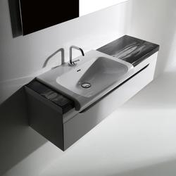 Inka Lavabo 60 e Mobile 120 Piani Ceramica Arte 2 | Mobili lavabo | Kerasan