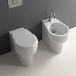 K 09 Vaso unico 50 + bidet 50 | Toilets | Kerasan