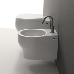 K 09 Wall hung wc + wall hung bidet | Toilets | Kerasan