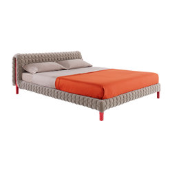 Ruché | Bed 140 X 200 Low Headboard Low Feet | Beds | Ligne Roset
